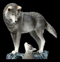 Wolf Figurines - Guidance by Lisa Parker
