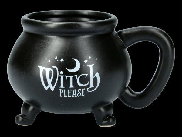 Hexenkessel Tasse - Witch Please