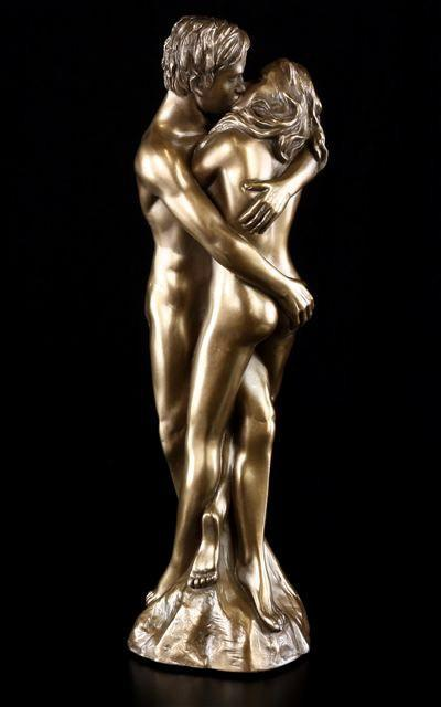 Nude Sculpture - As One - Love is Blue