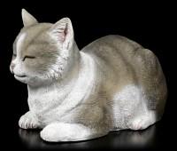 Garden Figurine - Sleeping Cat