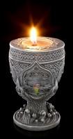 Gothic Teelichthalter - The Claw