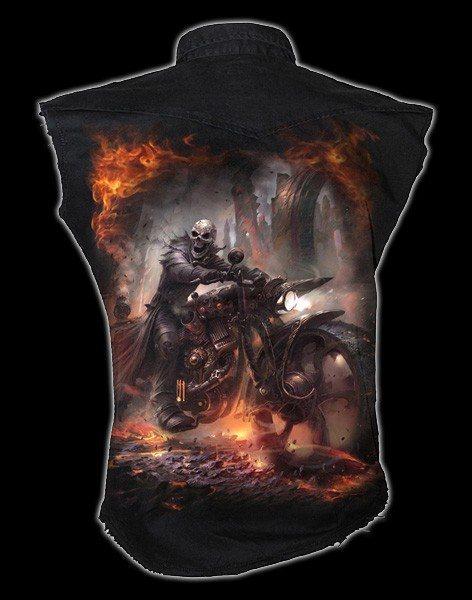 Ärmelloses Worker Shirt - Steam Punk Rider