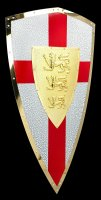 Knight Templar Shield with 3 Lions