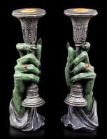 Vampire Candle Holder - Light of Darkness - Set of 2