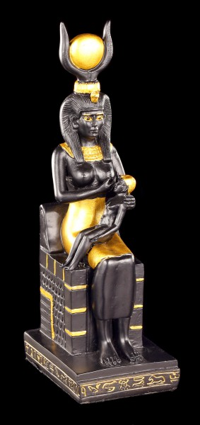 Isis Figurine with Horus Child