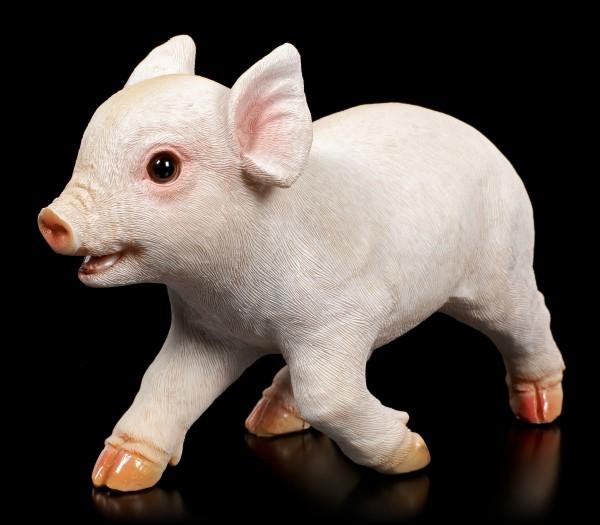 Garden Figurine - Running Piglet