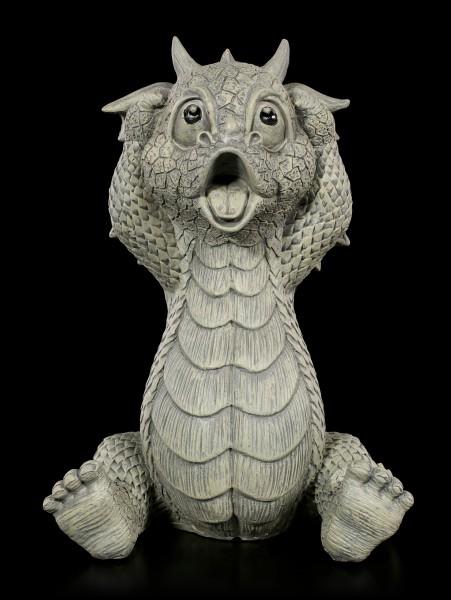 Dragon Garden Figurine - Ups