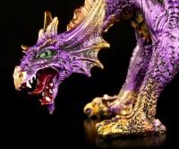 Drachen Figur lila - Amethyst Fury
