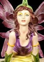 Fairy Figurine - Myhia Kneeling on Book