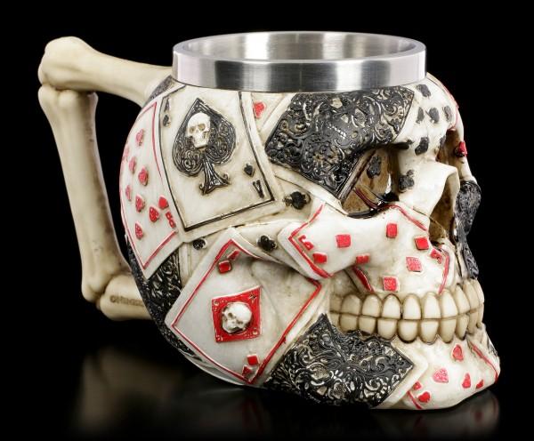 Skull Tankard - Dead Man's Hand