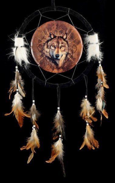 Wolf Traumfänger - Lone Wolf