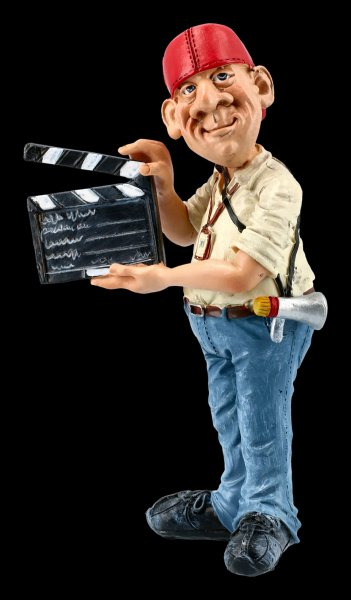 Funny Jobs Figurine - Camera Assistant