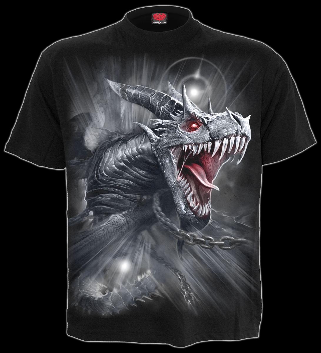Spiral Majestic Draco Männer Kapuzenpullover schwarz