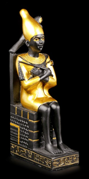 Sitting Osiris Figurine