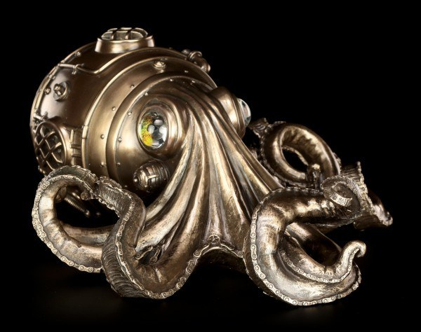 Steampunk Wall Plaque - Clockwork Tendrils
