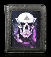 Geldbörse mit 3D Totenkopf - The Void