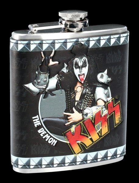 KISS Hip Flask - The Demon