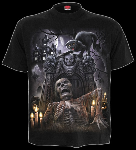 Skelett T-Shirt - Living Dead