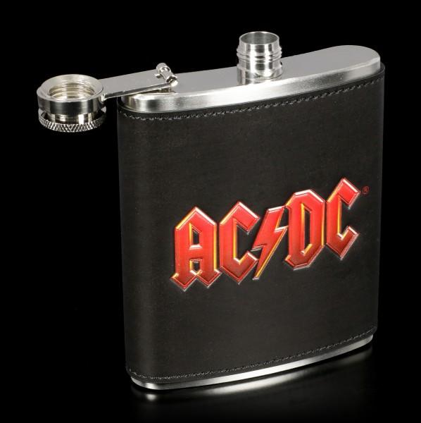 Flachmann mit AC/DC Logo