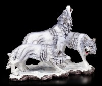 Shadow Wolf Figurine - The Wolf Pack