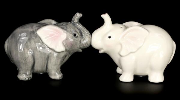 Salz- und Pfefferstreuer - Elefanten