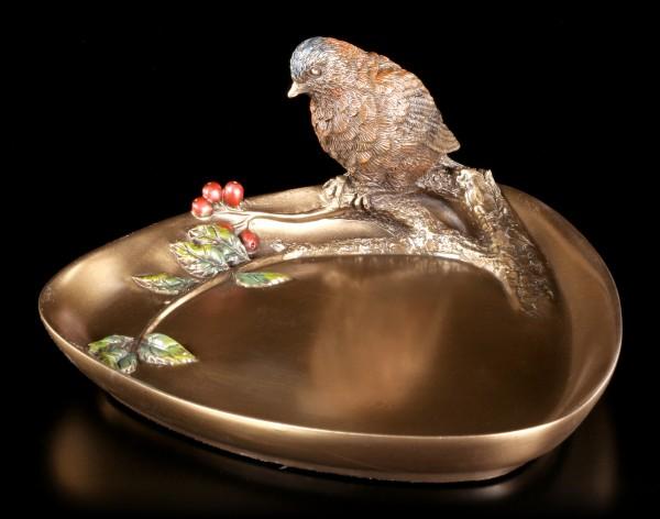 Jugendstil Schale klein - Vogel auf Ast