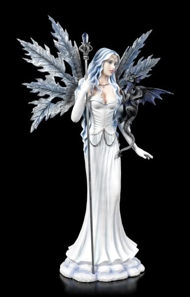 Large Fairy Figurine - Adica with little Dragon