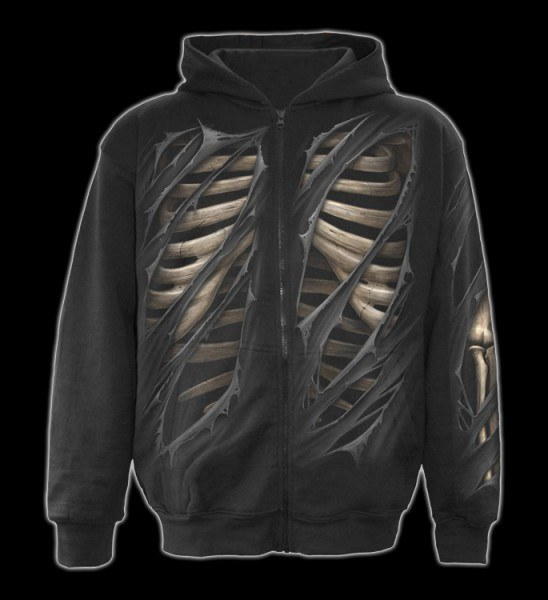 Bone Rips - Full Zip Hoodie
