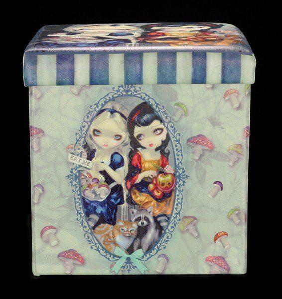 Aufbewahrungsbox mit Sitzmöglichkeit - Snow White & Alice