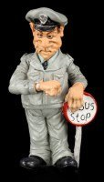 Busfahrer - Funny Job Figur