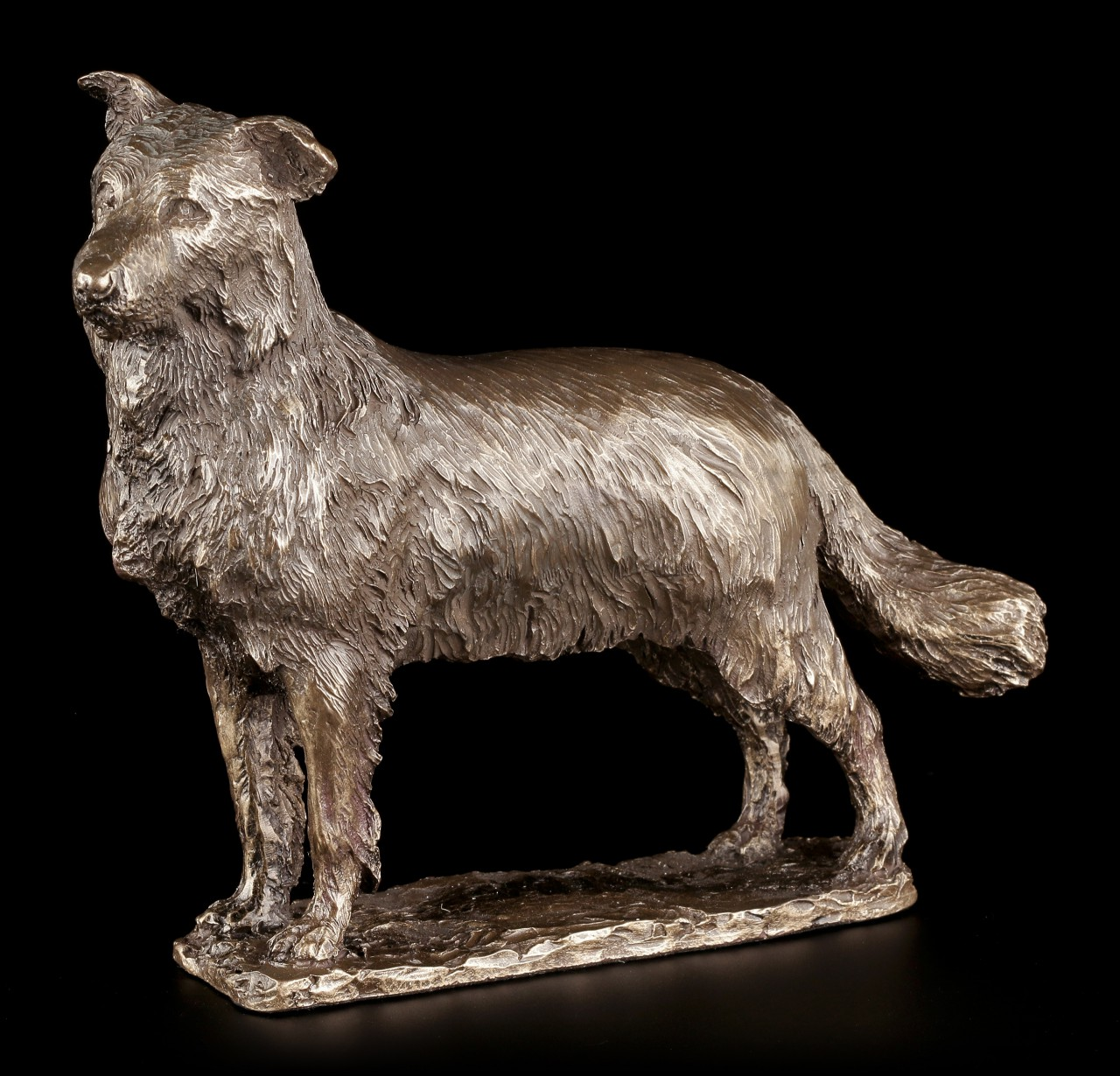 hunde figur  border collie  hunde  tiere  kulturen