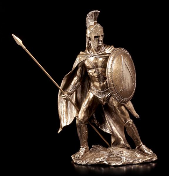 Leonidas I. Figur - König von Sparta - bronziert