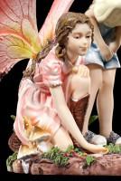 Elfen Figuren - Junge und Mädchen beim Spielen