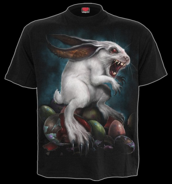 T-Shirt Horror Hase - Rabbit Hole