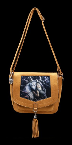 3D Side Bag with Wolf - Soul Bond