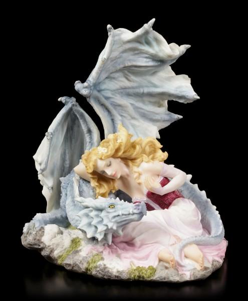 Maiden with Dragon Figurine - Dragonlove