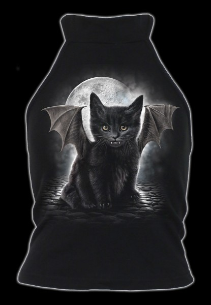 Damen Top Gothic Katze - Bat Cat