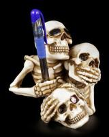 Skeleton Penholder - No Evil