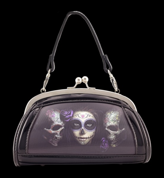 Evening Bag with 3D Picture - Sugar Skull