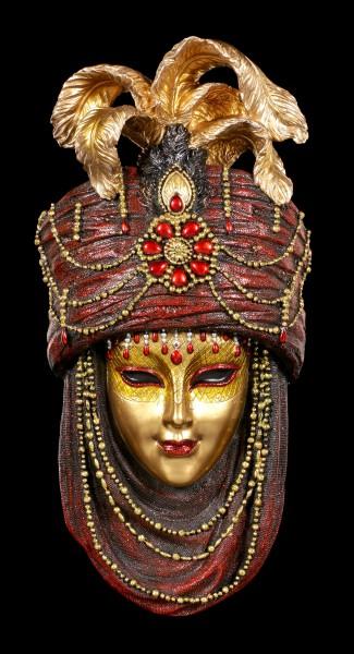 Colorful Venetian Mask - Rubidus