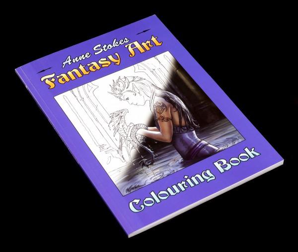 Vorschau: Fantasy Art Malbuch - Anne Stokes