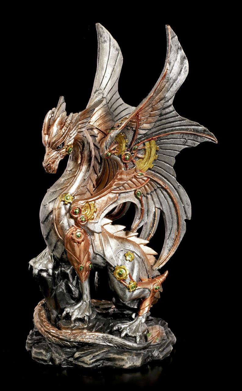 Steampunk Drachen Figur - Victorious