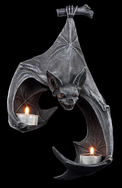 Bat Wall Tealight Holder