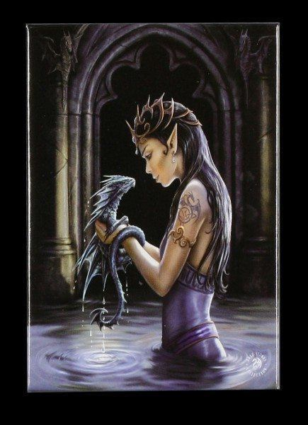 Magnet Fantasy - Water Dragon by Anne Stokes
