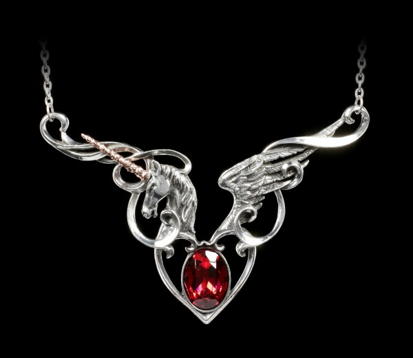 Alchemy Gothic Necklace - The Maiden's Conquest