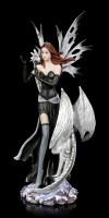 Fairy Figurine - Alba with white Dragon