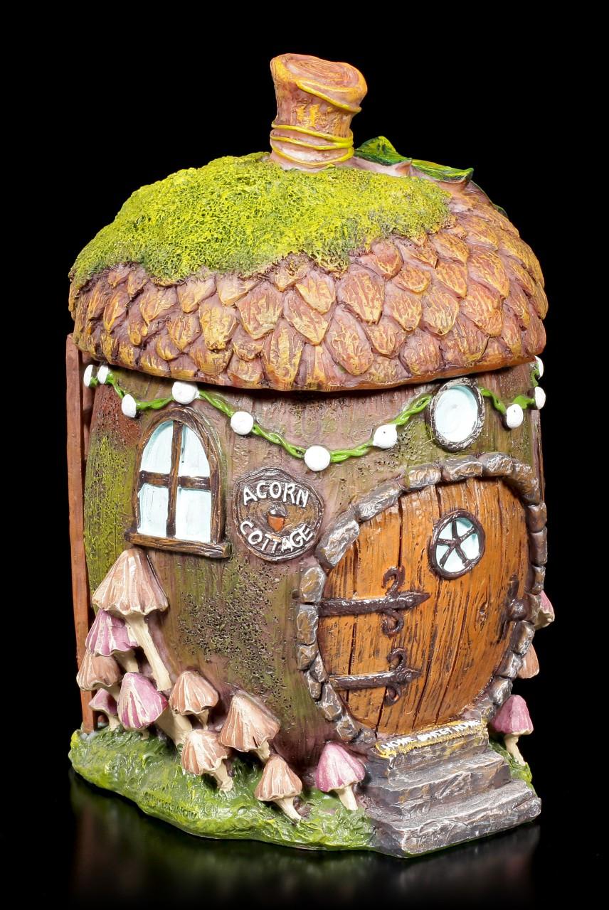 Fairy House Acorn Box - Home Sweet Home