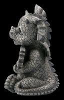 """Garden Figurine - Dragon """"Welcome"""""""