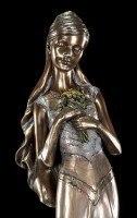 Braut Figur - Mina mit Wildblumen