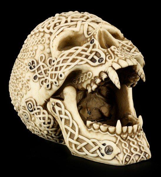 Totenkopf - Keltischer Teufel